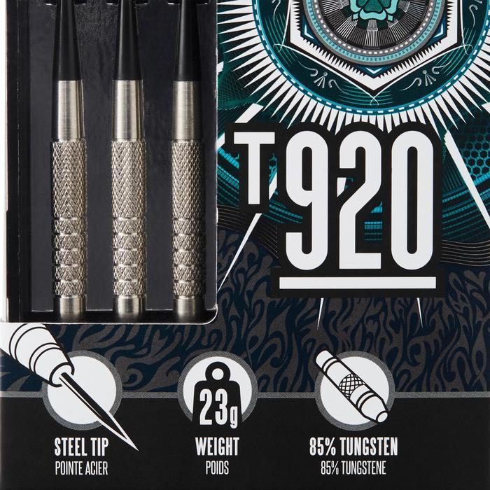 3 FLECHETTES POINTES ACIER T920