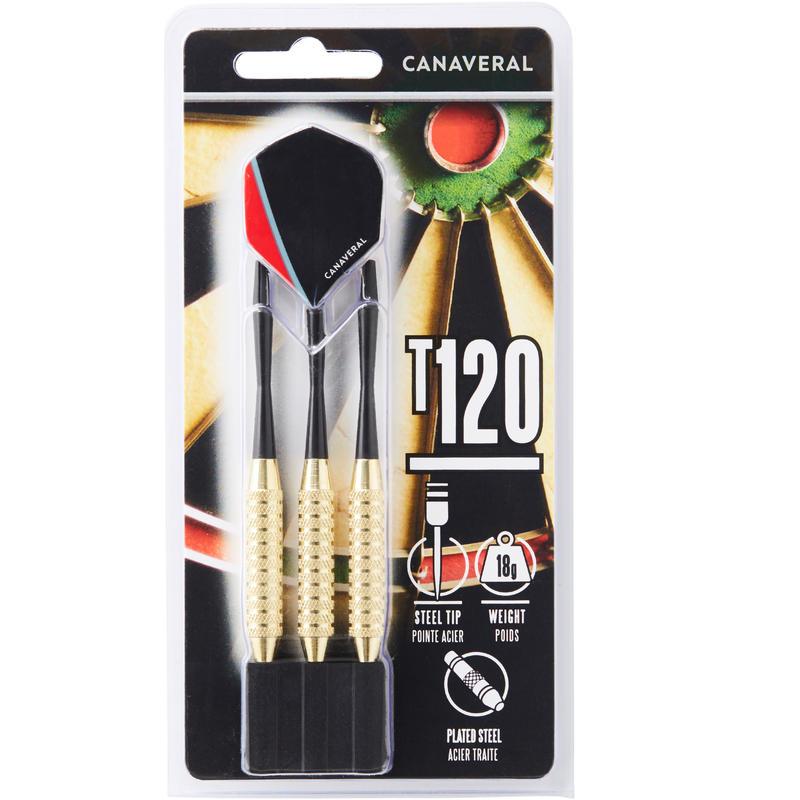 T120 Steel-Tipped Darts Tri-Pack