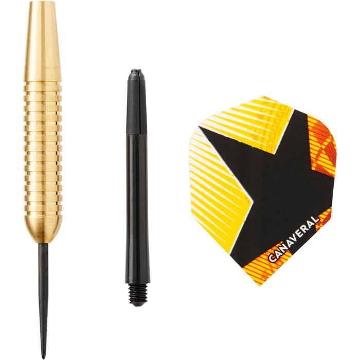 3 dartpijlen stalen punt T500