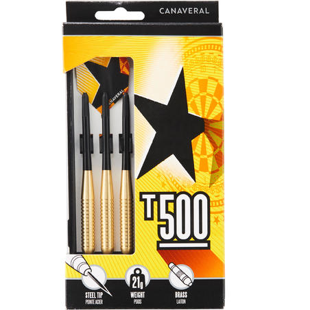 T500 Steel-Tipped Darts Tri-Pack