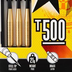 Dartpijlen (3) stalen punt T500 (21g)