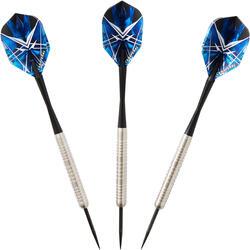 3 dartpijlen stalen punt T900 zwart canaveral (22g)