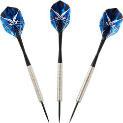 3 dartpijlen stalen punt T900