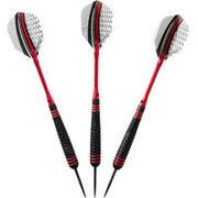 Steel Tip Darts T540 (Tri-Pack) - Red/Black