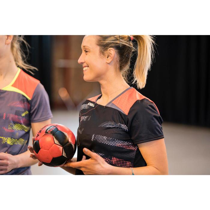 Ballon de handball hybride H500 Taille 2 rouge et - 1422778