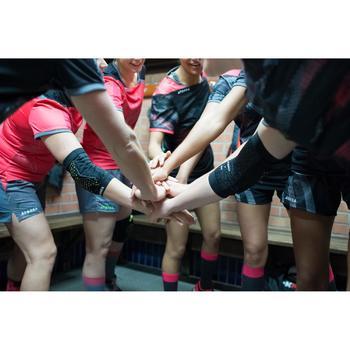 Short de handball H500 femme noir et - 1422782