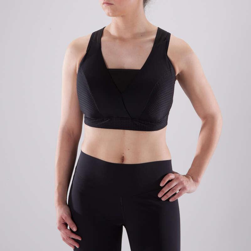 WOMAN FITNESS BRA, UNDERWEAR Fitness and Gym - FBRA 900 Deep Cup Sports Bra DOMYOS - Gym Activewear