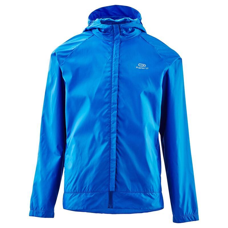 Cortaviento júnior Trail Running club personalizable azul