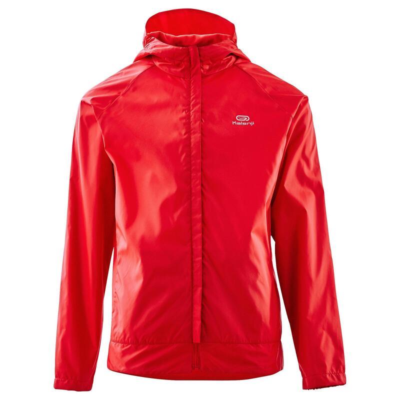 Cortaviento júnior Trail Running club personalizable rojo