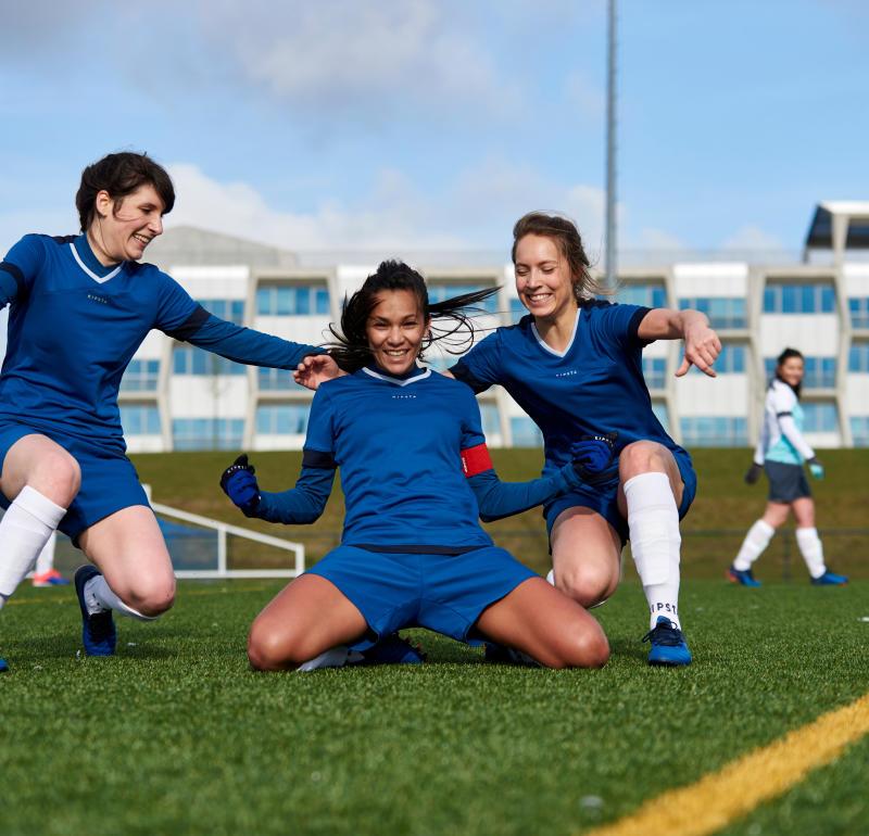 Women's football: a booming sport