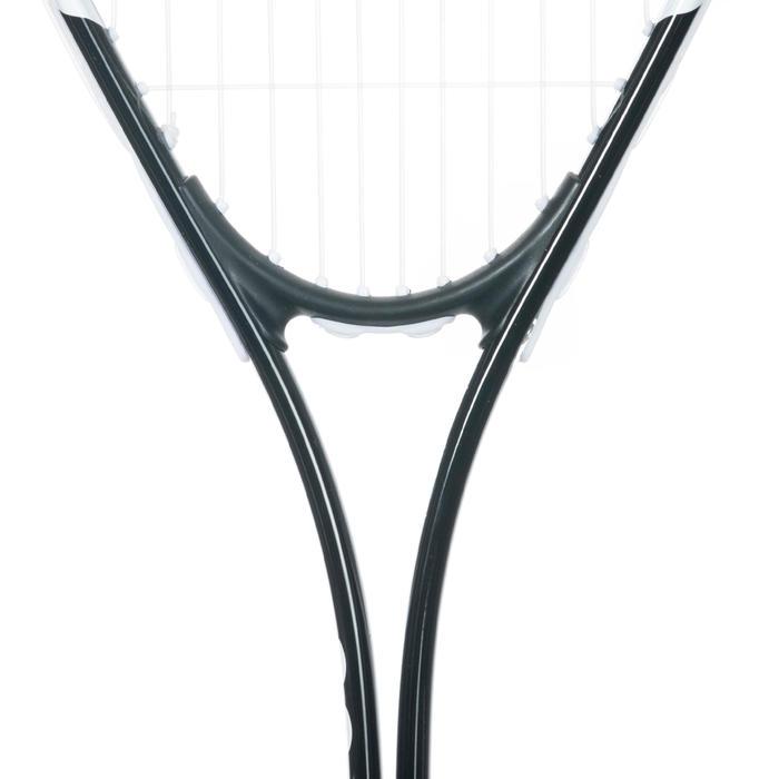 Squashschläger SR 100 besaitet Erwachsene schwarz