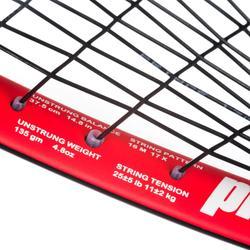 Raqueta Squash Prince Team Airstick Lite 500 Adulto Negro Naranja