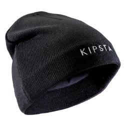 Mütze Fussball Keepwarm 100 Kinder schwarz