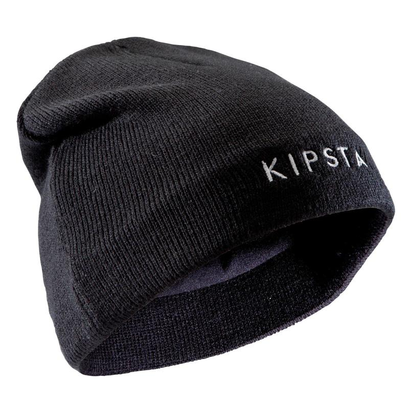 Bonnet Keepwarm 100 enfant football noir
