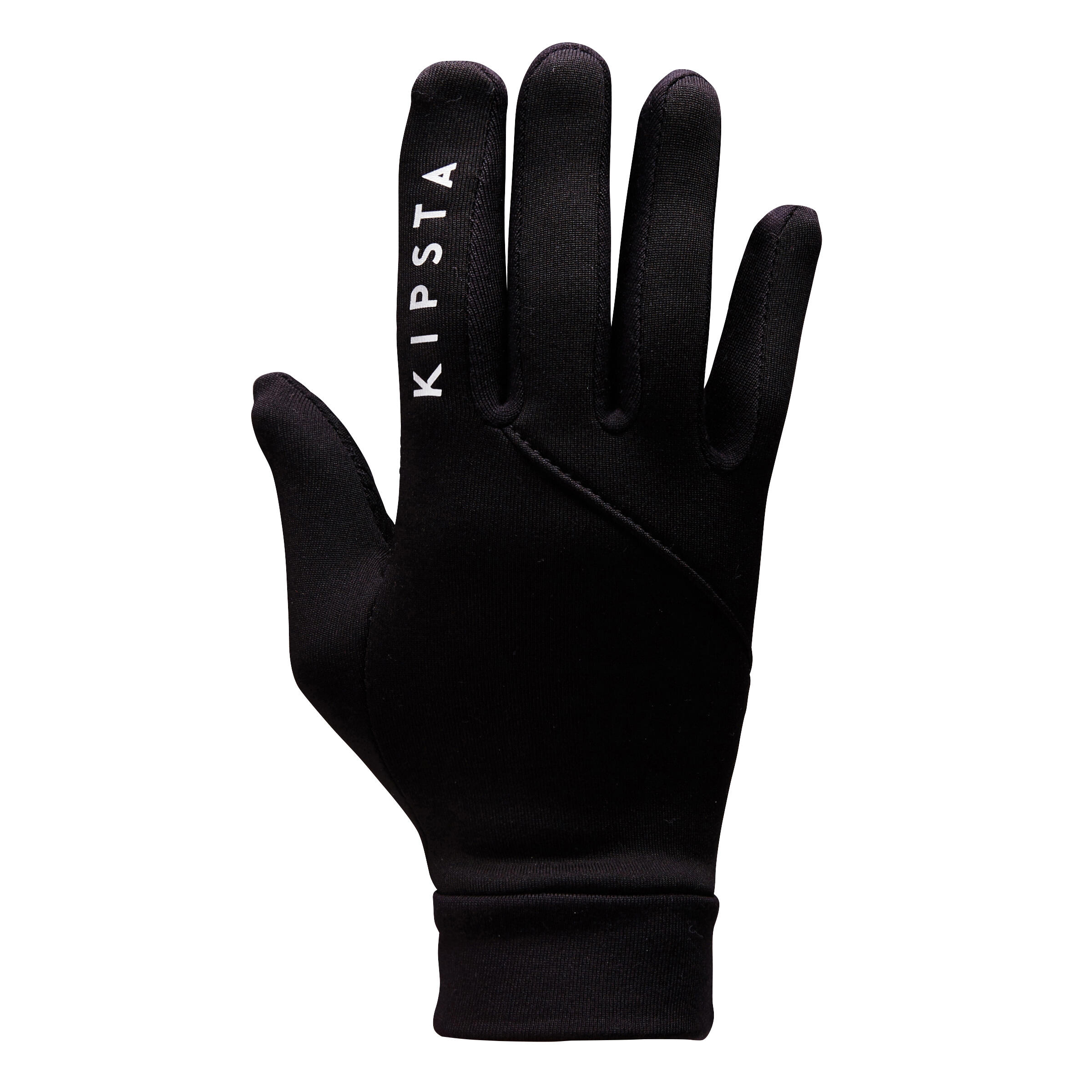 Handschuhe Fussball Keepdry 500 Kinder schwarz