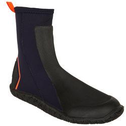 Dinghy 500 Sailing 4 mm Neoprene Boots - Black