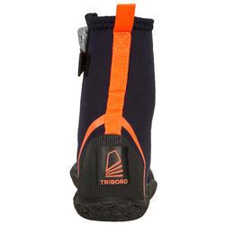 4 mm氯丁橡膠(neoprene)風帆鞋Dinghy500-黑色