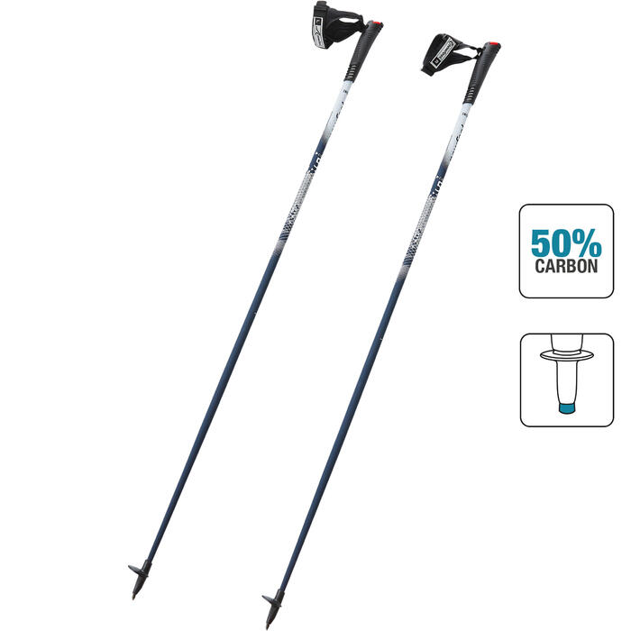 Nordic Walkingstöcke PW P500 blau