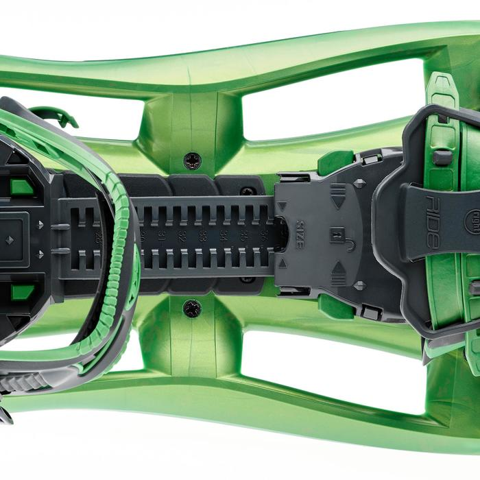 Raquettes à neige grands tamis TSL 325 RIDE vert