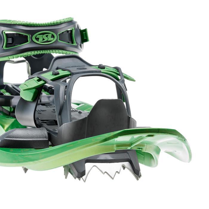Sneeuwschoenen met groot frame TSL 325 Ride groen
