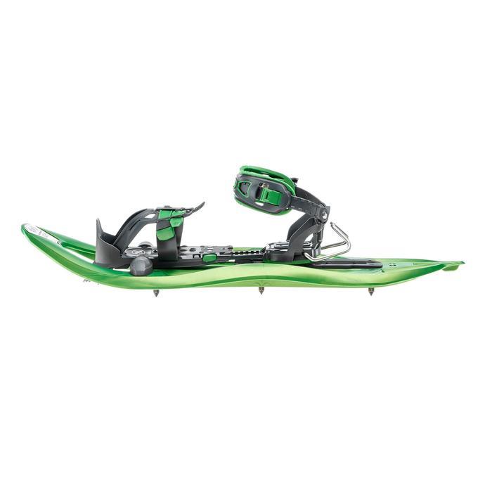 Raquetas Nieve Montaña Senderismo TSL 325 Ride Tamiz Grande Verde
