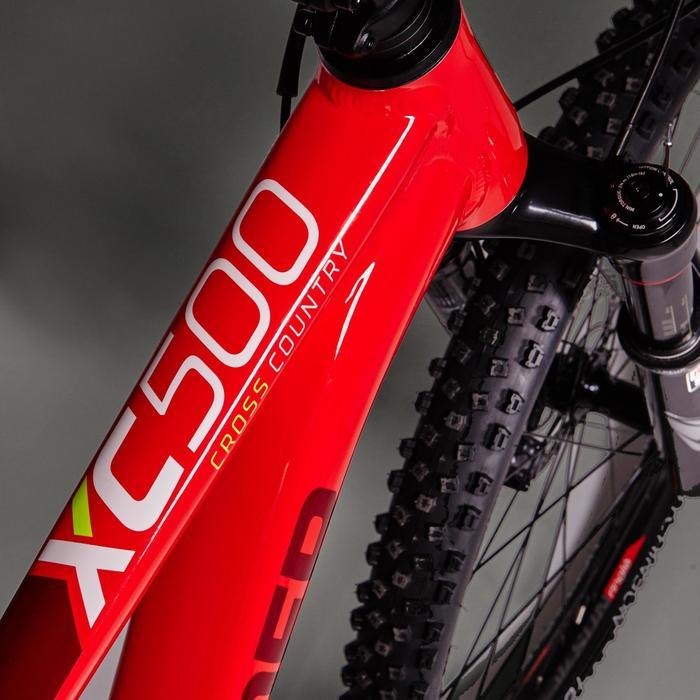 """MTB XC 500 29"""" rood - 1423523"""