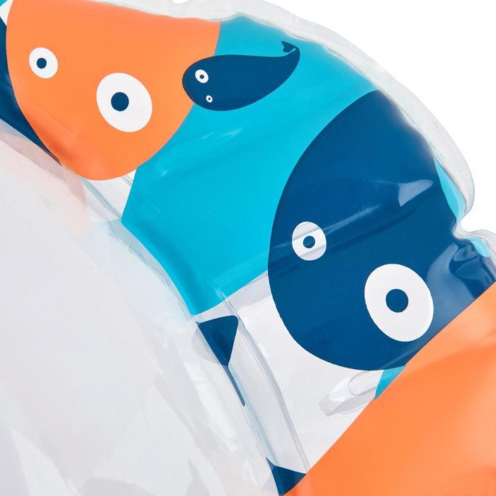 Bouée d'observation de snorkeling enfant SNK Olu 100 fish bleu orange - 1423570