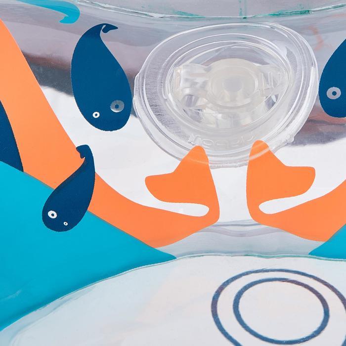 Bouée d'observation de snorkeling enfant SNK Olu 100 fish bleu orange - 1423573