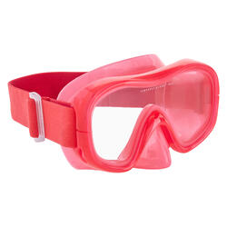 FRD 120 freediving mask pink