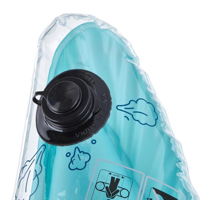Bouée d'observation de snorkeling Olu 120 fish bleu orange - 1423581