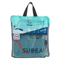 Bouée d'observation de plongée avec tuba OLU 120 bleu