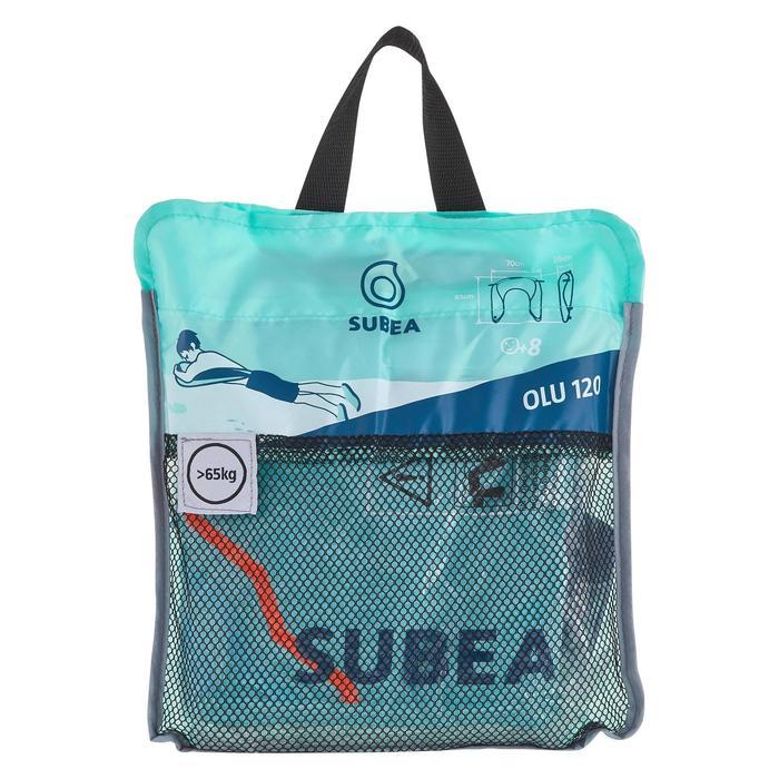 Bouée d'observation de snorkeling Olu 120 fish bleu orange - 1423595