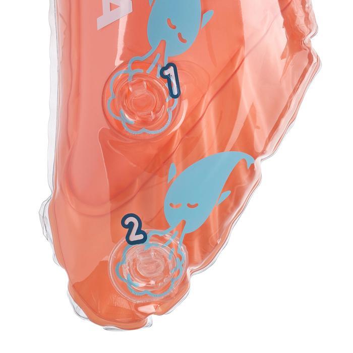 Bouée d'observation de snorkeling Olu 120 fish bleu orange - 1423600
