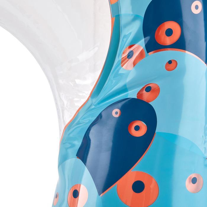 Bouée d'observation de snorkeling Olu 120 fish bleu orange - 1423605