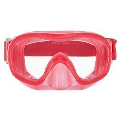 Duikbril voor vrijduiken FRD120 roze