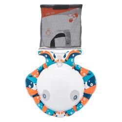 SNK Olu 100 Children's Snorkelling Observation Buoy - Fish Blue Orange