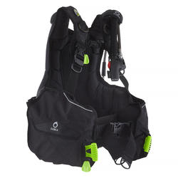 Jacket de buceo SUBEA SCD 500 Envolvente con bolsillos porta lastre