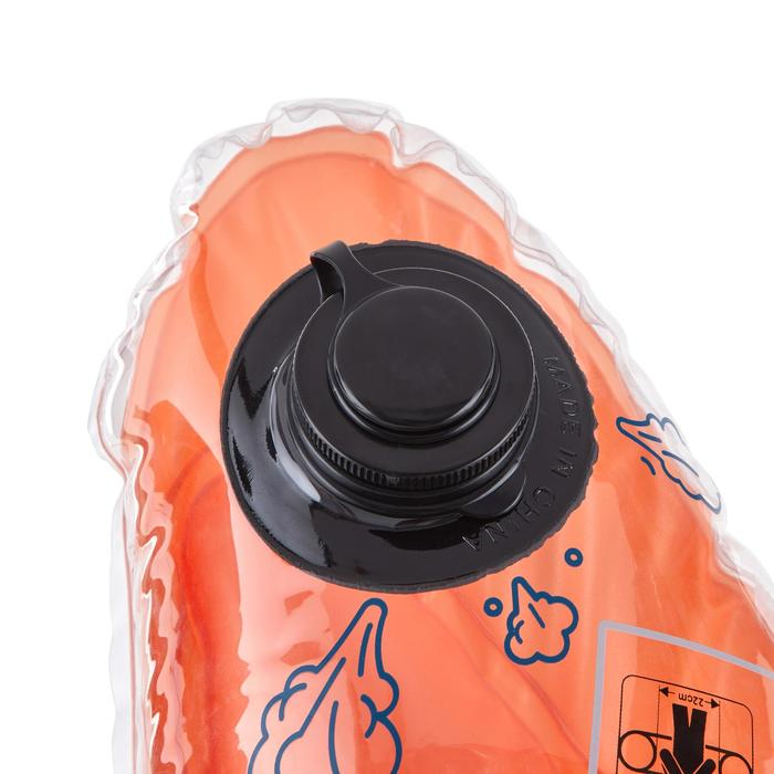 Bouée d'observation de snorkeling Olu 120 fish bleu orange - 1423631