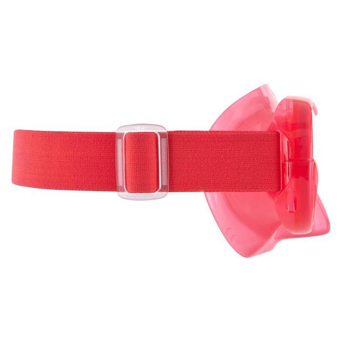 Duikbril SNK 520 voor snorkelen roze koraal