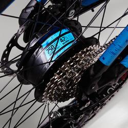 Bicicleta Eléctrica de Montaña e-ST 500 negra y azul
