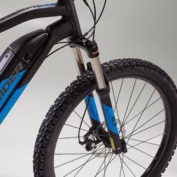 E-Bike Rockrider E-ST500 schwarz/blau