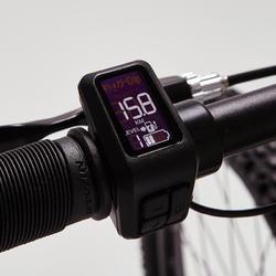 "Elektrische mountainbike E-ST 500 V2 zwart/blauw 27.5"""