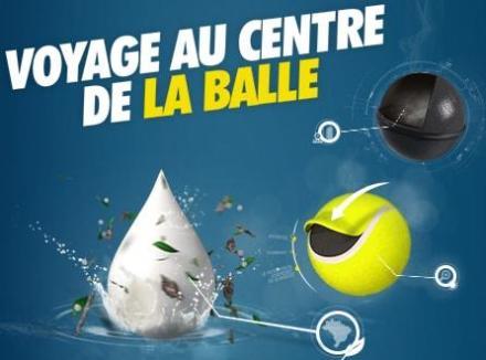 conception d'une balle de tennis TB 920 artengo