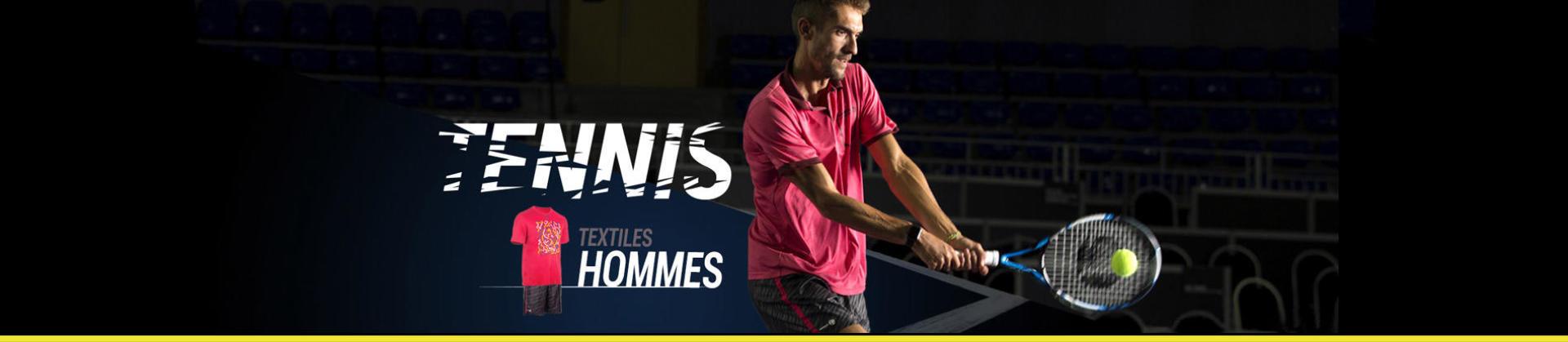 produits et équipement de tennis pour joueurs régulier, raquette et panoplie textile tennis