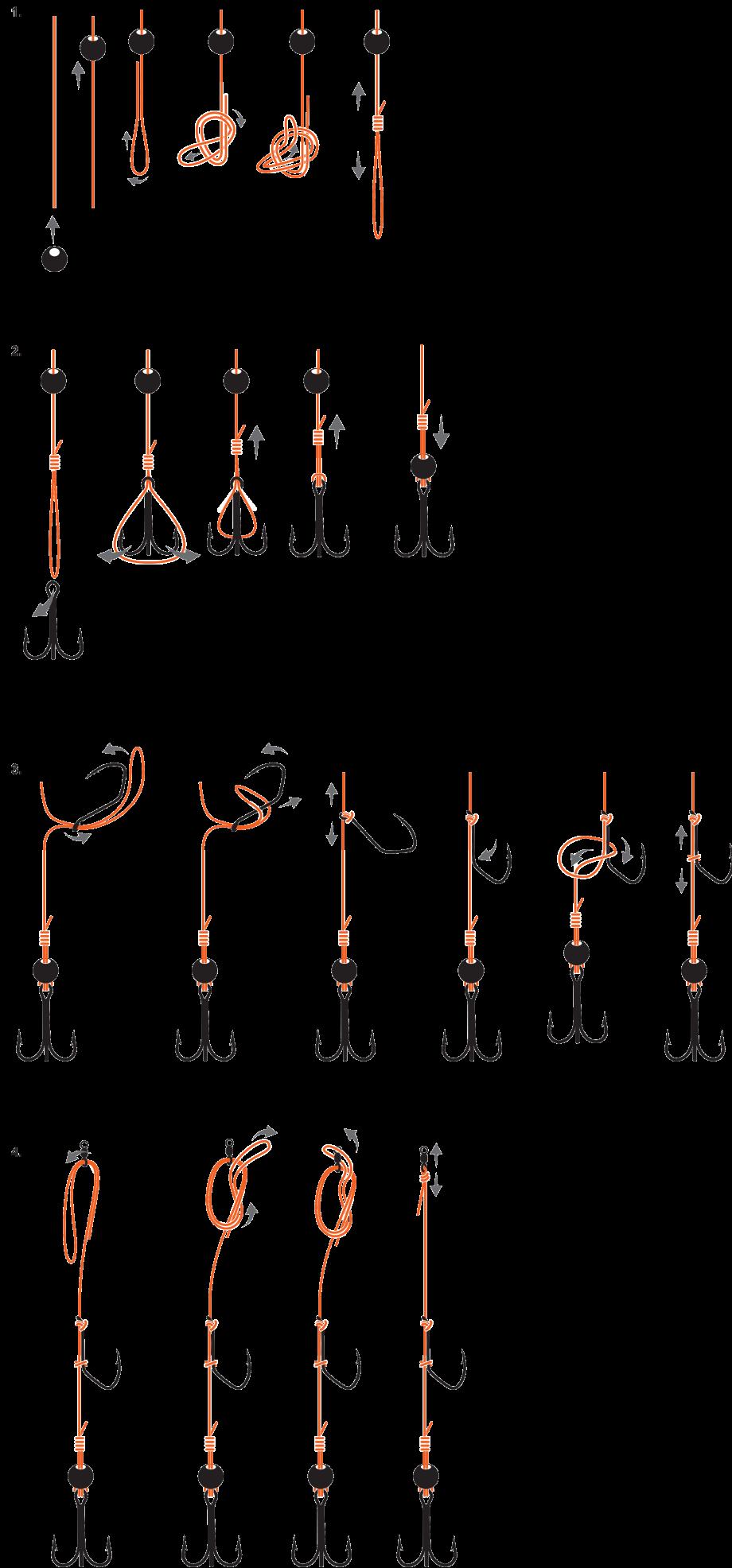 Illustration montage pêche bouée