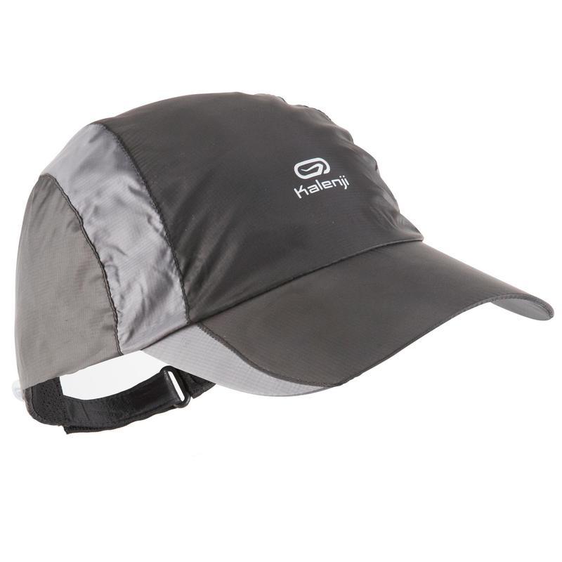 RUNNING RAIN CAP BLACK\nADJUSTABLE 55-63 cm