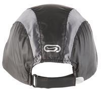 Skriešanas lietus cepure, melna regulējama 55-63 cm