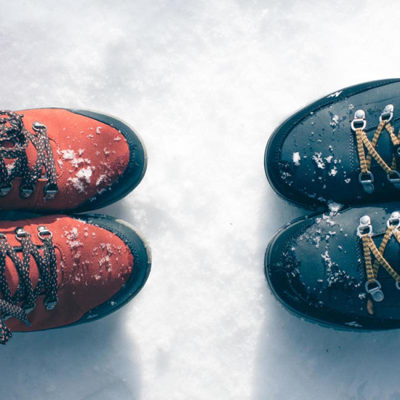 Comment choisir des chaussures chaudes ou apres-skis - titre