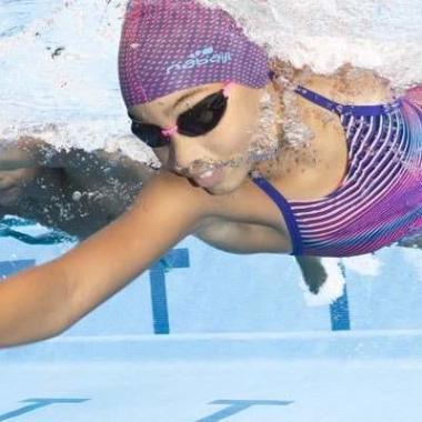 maillot de bain de natation fille