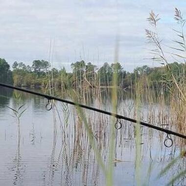 bivak voor vissers
